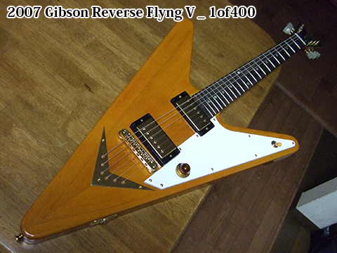 Y2007 Gibson Reverse Flyng V _ 1of400